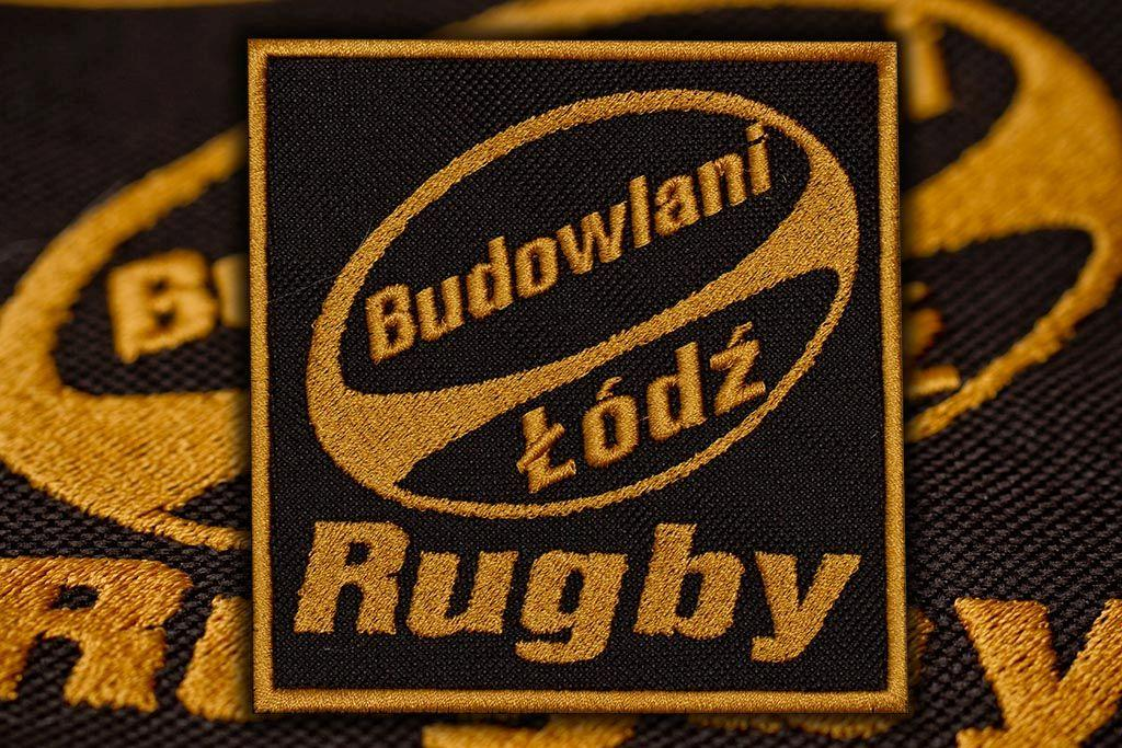 naszywka budowlani rugby
